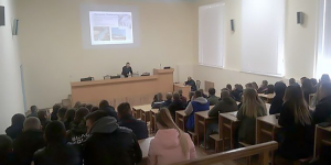 Чергова презентація та співбесіда зі студентами