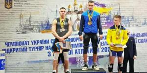 Нова перемога юного важкоатлета