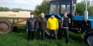 Доглядаємо за посівами зернових культур