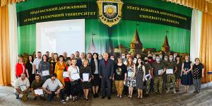 Урочисте вручення сертифікатів про закінчення соціально-освітнього курсу за проєктом «Норвегія-Україна»